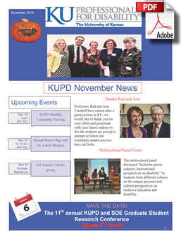 KUPD Newsletter graphic